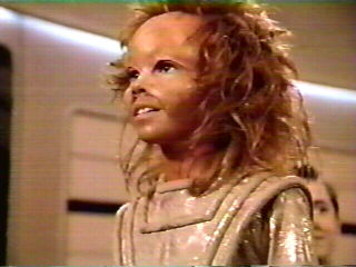Sarjenka - views Drema IV on the bridge's main viewer  - Nikki Cox