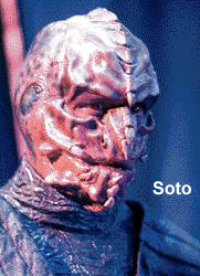 Soto - Lethean who stole the secret of The Sword of Kahless from Kor. - Tom Morga