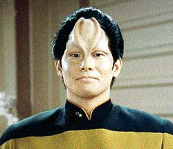 Lt. Daniel L. Kwan - A half Napean/half Terren officer aboard the Enterprise - Tim Lounibos