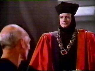Picard successfully defended the human race against Q - John deLancie