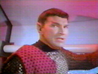 Unnamed Romulan Commander who faced off with Captain Kirk - Mark Lenard